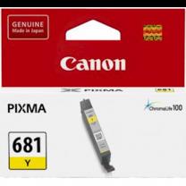 Canon CLI681Y Yellow Ink Cartridge
