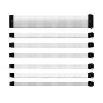 Cooler Master Sleeved V2 Extension Cable Kit - White