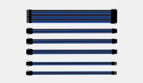 Coolermaster Sleeved Extension Cable Kit - Blue/Black