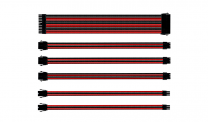 Coolermaster Sleeved Extension Cable Kit - Red/Black