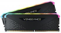Corsair Vengeance RGB RS 16GB (2x8) DDR4-3600 RAM - Black