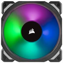 Corsair ML120 PRO RGB LED 120MM PWM Premium Magnetic Levitation Fan - Single Pack (CO-9050075-WW)