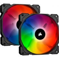 Corsair iCUE SP140 RGB PRO Performance 140mm Dual Fan Kit with Lighting Node CORE