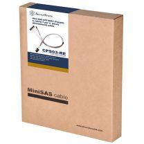 SilverStone CPS03-RE 50cm Mini SFF-8087 to SAS/SATA Cable