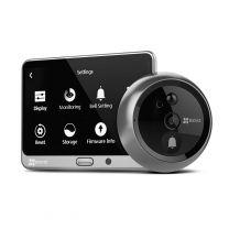 """EZVIZ DP1 Smart Door Viewer Camera - Motion Detection, 2-Way Audio, 4.3"""" Touch Screen"""