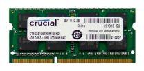 Crucial 4GB (1x4GB) 1066MHz DDR3 SODIMM/Mac Ram