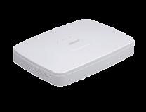 "Dahua 8 Channel NVR, SATA 3.5""(0/1), POE+(8), H.265, 80MBPS, 8MP, HDMI, VGA"