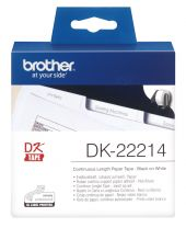 Brother DK-22214 White Paper Roll 12mm x 30.48mm