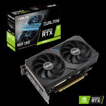 ASUS GeForce Dual RTX 3060 Ti 8G Mini Graphics Card - LHR