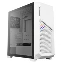 Antec DP502 FLUX Tempered Glass Mid-Tower ATX Case - White