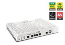 DrayTek Vigor2862 Multi-WAN VDSL2/ADSL2+ & Gigabit Ethernet WAN Firewall router with 32 x VPN tunnels (DV2862)