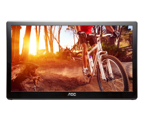 "Open-Box AOC E1659FWU 15.6"" USB Powered Portable LED Monitor"
