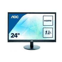 """AOC E2470SWH 23.6"""" FHD LED Monitor"""