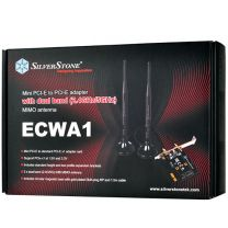 SilverStone ECWA1 Wireless Mini PCIe Adapter