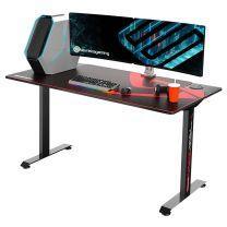 """ONEX I60-SLB Eureka Ergonomic 60"""" Racing Desk - Large"""