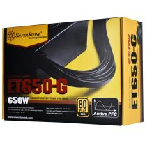 SilverStone 650W Essential 80 Plus Gold Non-Modular Power Supply