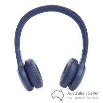JBL Live 460 Noise Cancelling Wireless Over-Ear Headphones - Blue