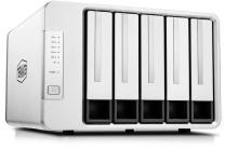 TerraMaster F5-422 Tower Intel Celeron 5-Bay Intel NAS QC - 4GB