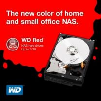 "WD Red 2TB 3.5"" SATA NAS 147MB/s HDD"