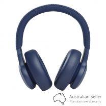 JBL Live 660 Noise Cancelling Wireless Over-Ear Headphones - Blue