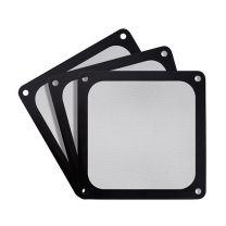 Silverstone 140mm Ultra Fine Magnetic Fan Filter 3-Pack - Black