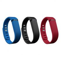 Fitbit Flex Band 3 Pack Classic Small FB401BNRBS - Navy, Red and Blue