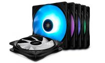 Deepcool 120mm RF120M High Brightness RGB Fan - 5 Pack