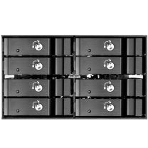 SilverStone FS208B Dual 5.25 To 2.5 Hot Swap Drive Bay