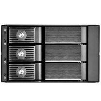 SilverStone FS303B Dual 5.25 To 3.5 Drive Bay, 3x 3.5 HDD