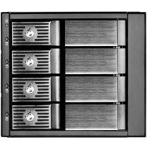 SilverStone FS304B Triple 5.25 To 3.5 Drive Bay, 4x 3.5 HDD