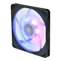 SilverStone FW124-ARGB 120mm PWM Fan, Addressable RGB LED