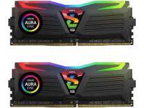 GeIL SUPER LUCE RGB SYNC 16GB (2 x 8GB) DDR4-2400 Desktop Memory Model Black