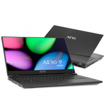 Manufacturer RefurbishedGigabyte AERO 17 HDR XA 17.3'' 4K UHD Laptop, i9,16GB,512GB,RTX 2070,Windows 10 Pro