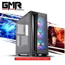 GMR Aegis 550 Gaming PC - Intel i3 10105F, 8GB DDR4, RX 550 2GB, 256GB nVME, 420W, Windows 10