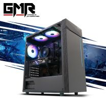 GMR Cobalt 5500XT Gaming PC - Ryzen 5 3400G, 16GB DDR4, RX5500 XT 8GB, 500GB nVME, 1TB HDD, 550W, Windows 10