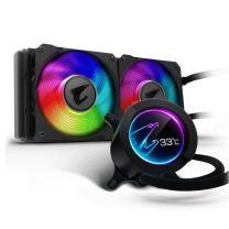 Gigabyte AORUS 240 ARGB 120mm LCD Display Liquid CPU Cooler