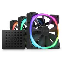 NZXT Aer RGB 2 120mm Fans Triple Starter Pack - Matte Black