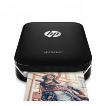 HP Sprocket Portable Mini Mobile Bluetooth Wireless Printer 4 iPhone & Samsung Black (Z3Z92A)