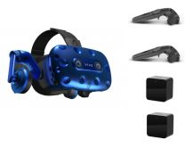 HTC VIVE Pro Kit (HMD Headset w/ Controllers & Base Station sensors)