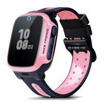 imoo Z2 Kids Waterproof Watch Phone 4G with Video & Call - Merah Muda