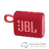 JBL Go 3 Portable Mini Bluetooth Speaker - Red