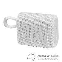JBL Go 3 Portable Mini Bluetooth Speaker - White