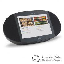 JBL Link View Screen Speaker with Google Assistant - Black