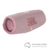 JBL Charge 5 Bluetooth Portable Speaker - Pink