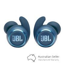 JBL Reflect Mini Noise Cancelling TWS Sport In-Ear Wireless Headphones - Blue