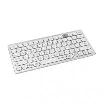 Kensington Multi-device Dual Wireless Compact Keyboard - Silver