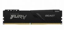 Kingston 16GB (2x8GB) DDR4-2666 Fury Beast--Black