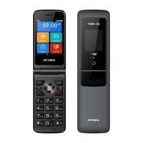 "Konka F21 Flip 2.8"" 128MB/64MB Mobile Phone - Grey"