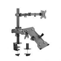 Brateck Double Joint Articulating Steel Monitor Arm