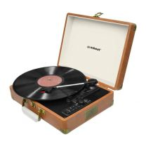 MBeat USBTR128 Aria Retro Turntable with Bluetooth and USB Direct Recording